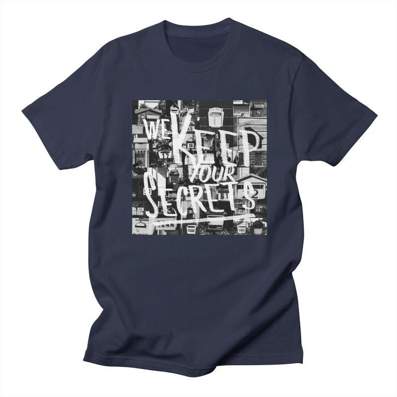We Keep Your Secrets Men's Regular T-Shirt by The Artist Shop of Ben Stevens