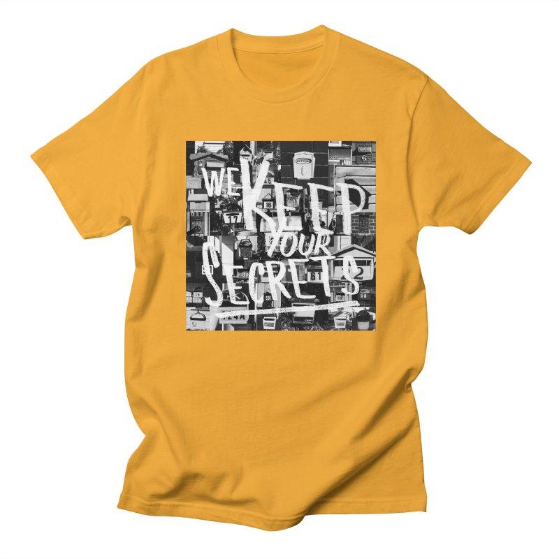 We Keep Your Secrets Women's Regular Unisex T-Shirt by The Artist Shop of Ben Stevens