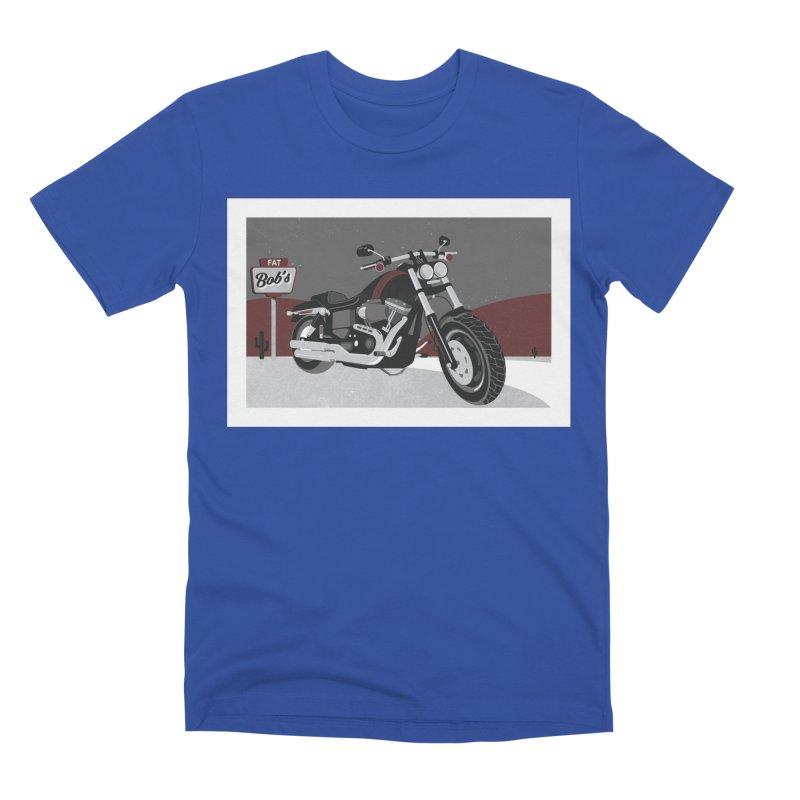 Stoppin' at Fat Bob's Men's Premium T-Shirt by The Artist Shop of Ben Stevens