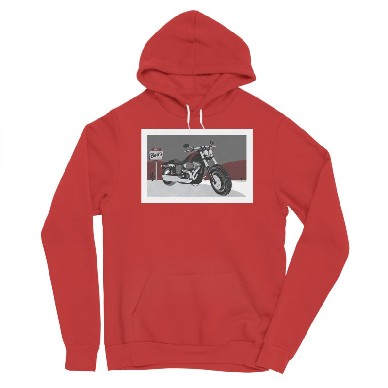 Stoppin' at Fat Bob's Men's Pullover Hoody by The Artist Shop of Ben Stevens