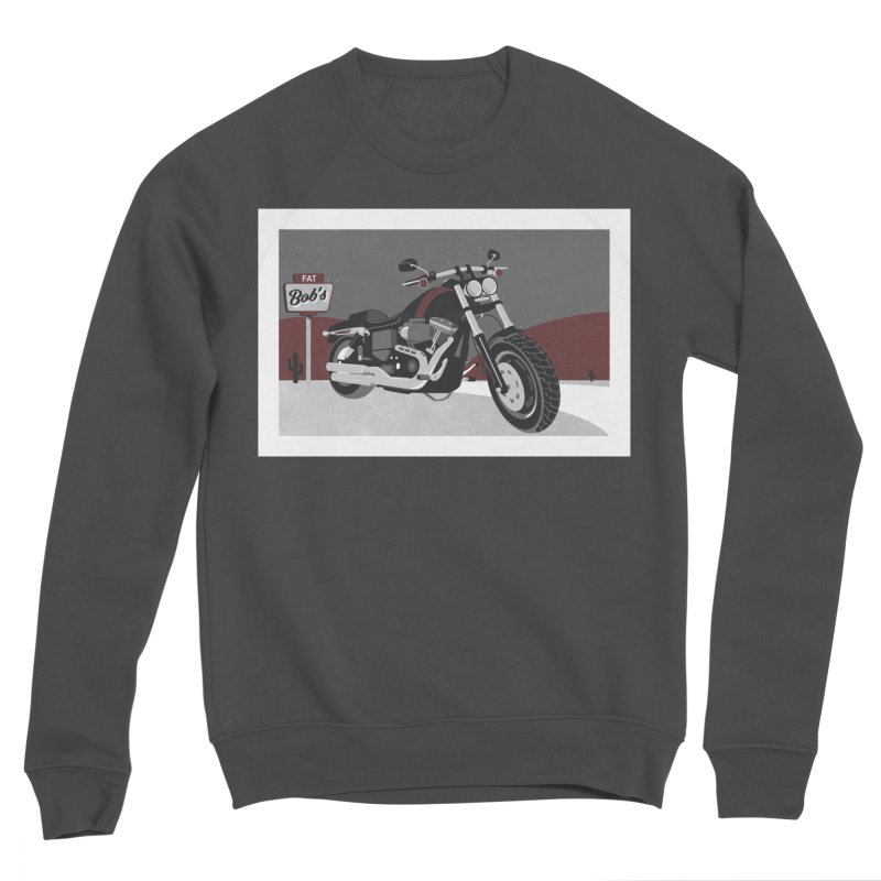Stoppin' at Fat Bob's Women's Sponge Fleece Sweatshirt by The Artist Shop of Ben Stevens