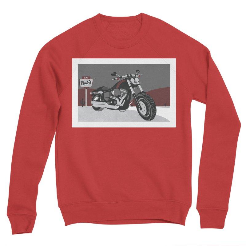 Stoppin' at Fat Bob's Men's Sweatshirt by The Artist Shop of Ben Stevens