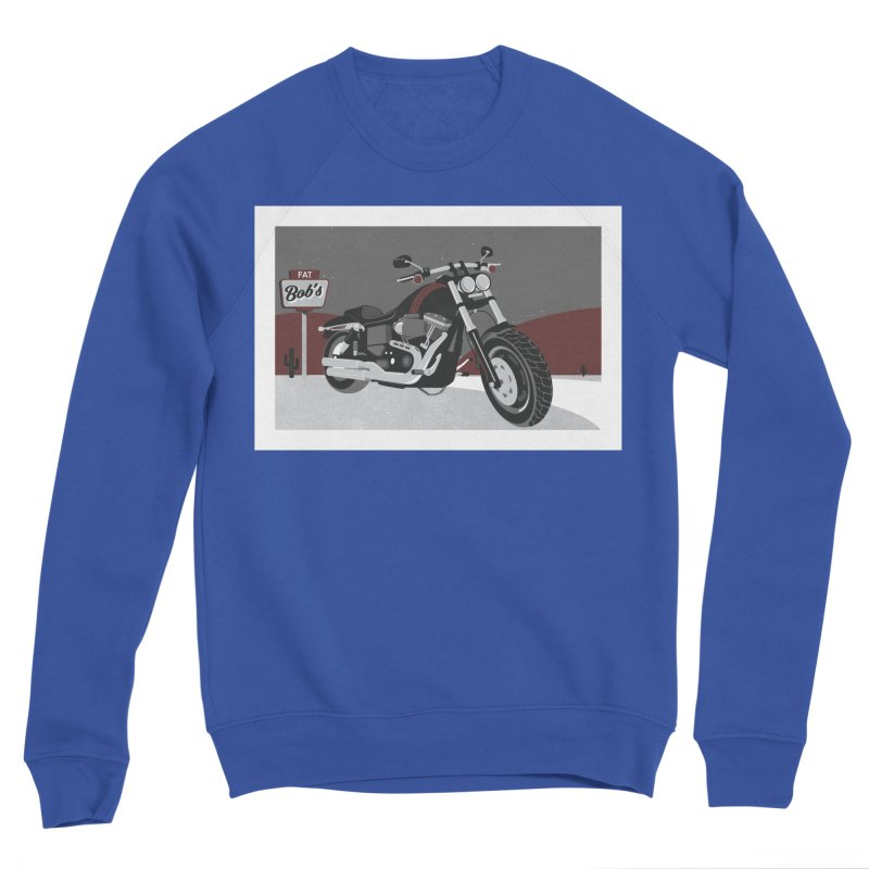 Stoppin' at Fat Bob's Men's Sweatshirt by The Artist Shop of Ben Stevens