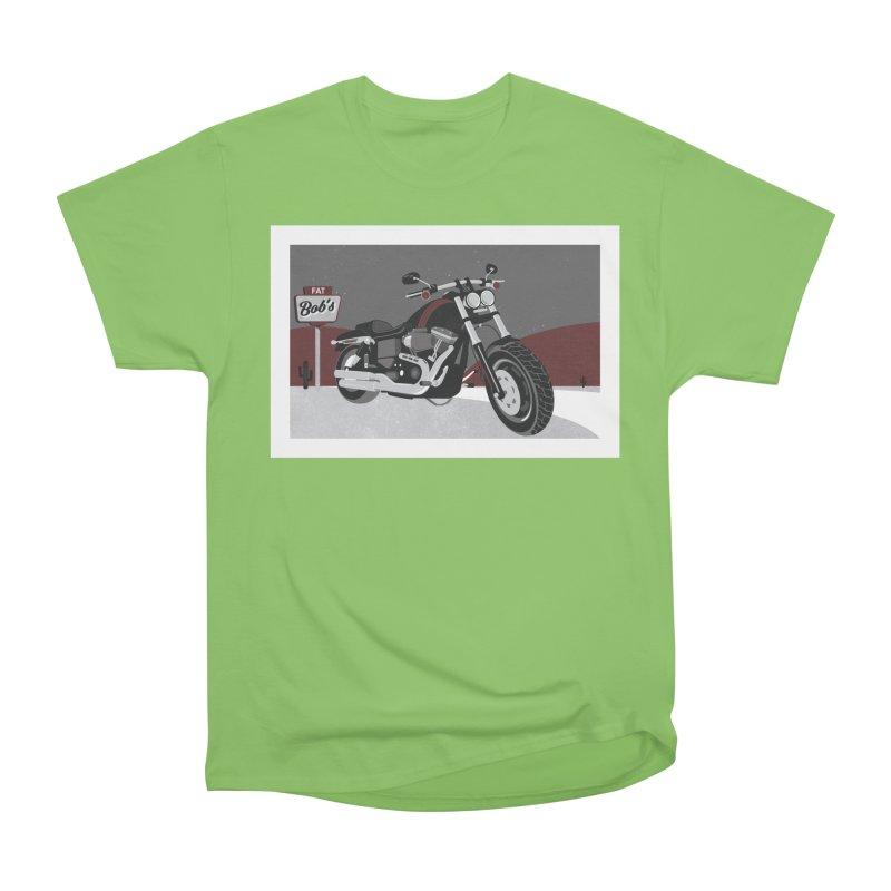 Stoppin' at Fat Bob's Women's Heavyweight Unisex T-Shirt by The Artist Shop of Ben Stevens