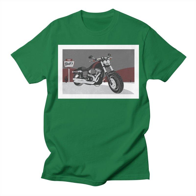 Stoppin' at Fat Bob's Women's Regular Unisex T-Shirt by The Artist Shop of Ben Stevens