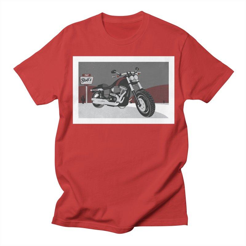 Stoppin' at Fat Bob's Men's Regular T-Shirt by The Artist Shop of Ben Stevens