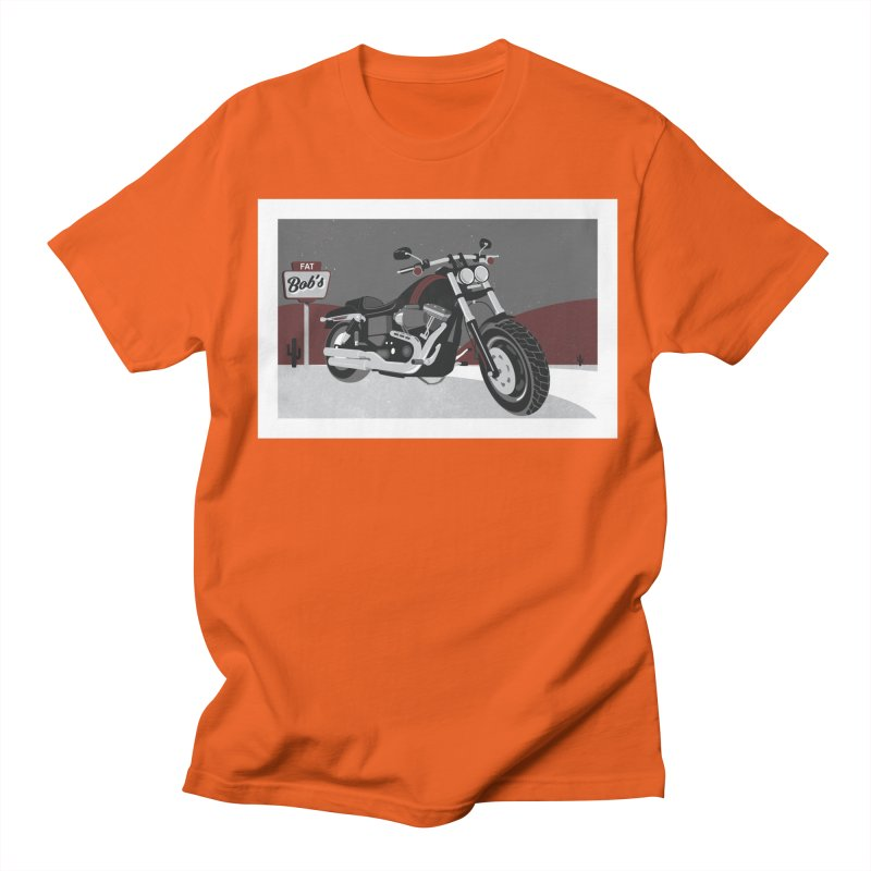 Stoppin' at Fat Bob's Men's Regular T-Shirt by The Artist Shop of Ben Stevens