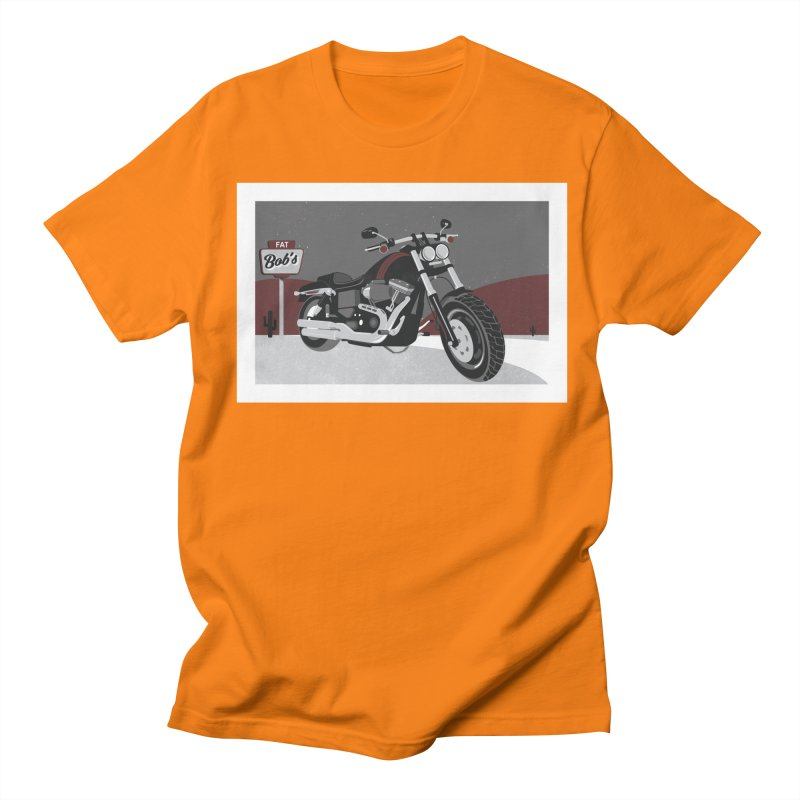Stoppin' at Fat Bob's Women's Regular Unisex T-Shirt by The Artist Shop of Ben Stevens