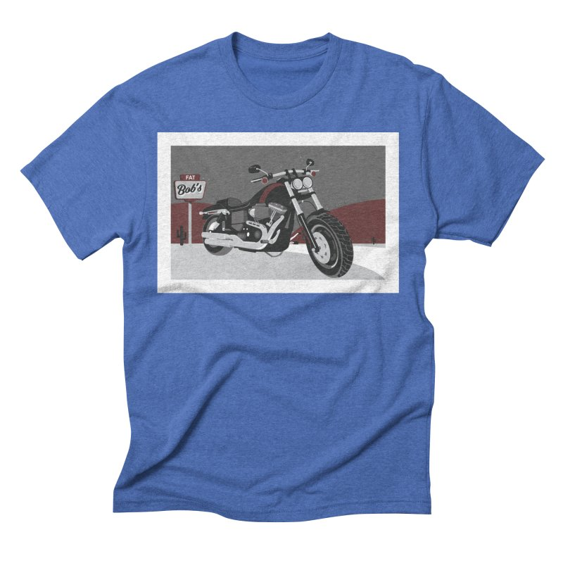 Stoppin' at Fat Bob's Men's Triblend T-Shirt by The Artist Shop of Ben Stevens