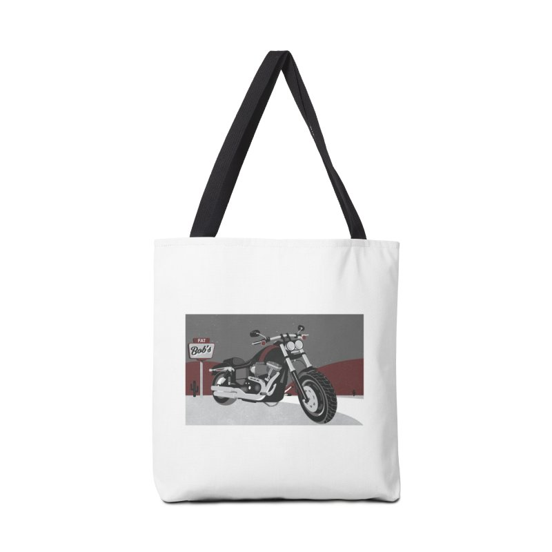 Stoppin' at Fat Bob's Accessories Tote Bag Bag by The Artist Shop of Ben Stevens