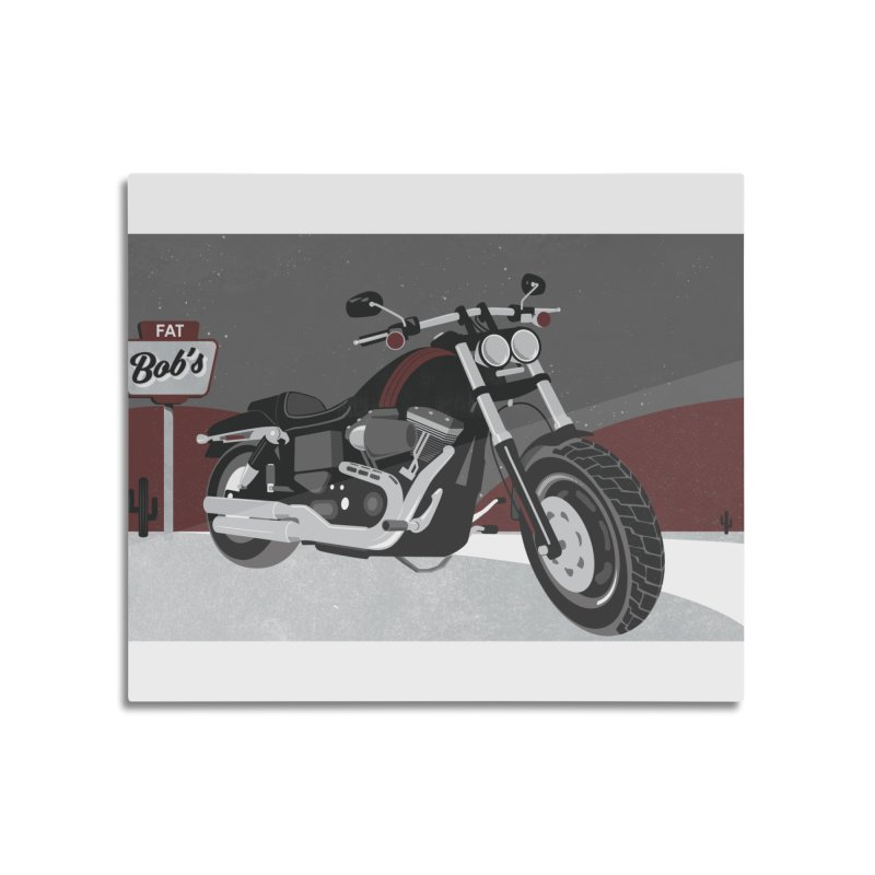 Stoppin' at Fat Bob's Home Mounted Acrylic Print by The Artist Shop of Ben Stevens