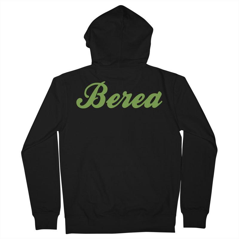 Berea Logo Product Shop Men's Zip-Up Hoody by Berea Community Shop