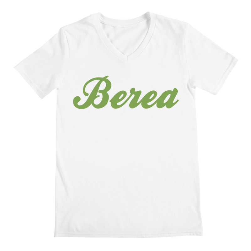 Berea Logo Product Shop Men's V-Neck by Berea Community Shop