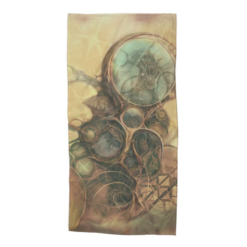 Time Compass in Beach Towel by Imaginary Lands Wanderings