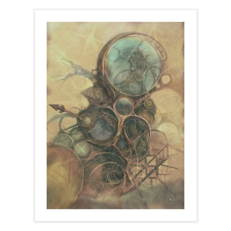 Time Compass in Fine Art Print by Imaginary Lands Wanderings