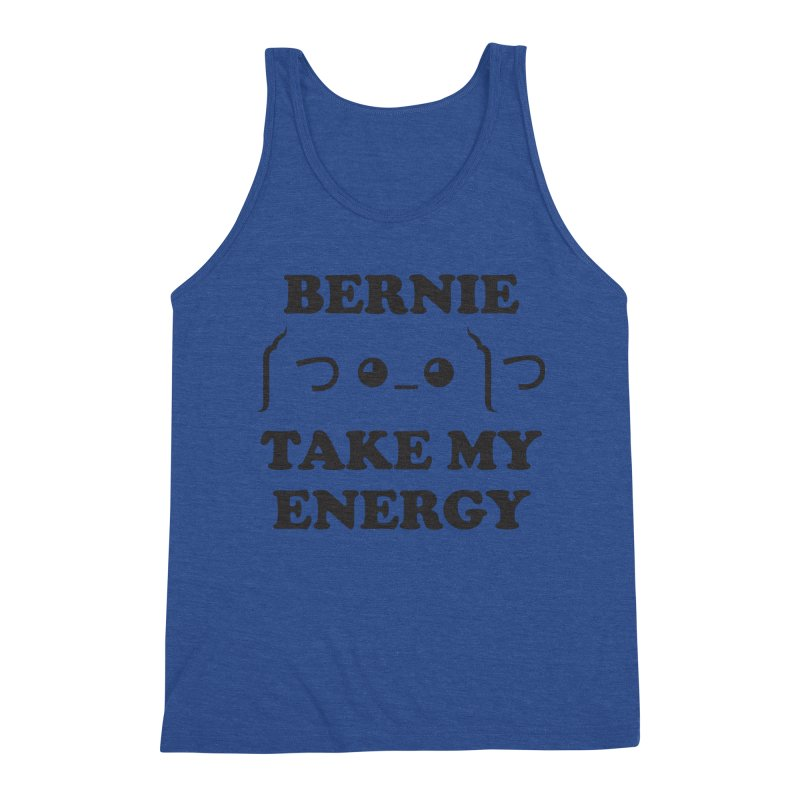 Bernie Take My Energy (Black) Men's Tank by Bernie Threads