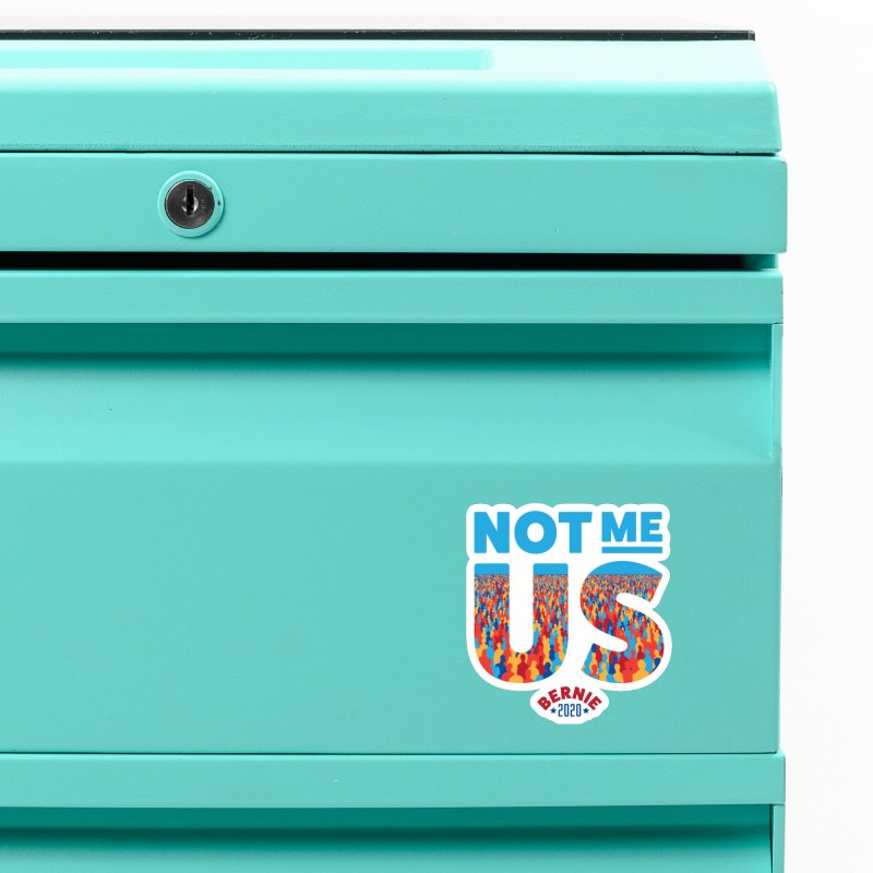 Not Me, Us 2020 (Text Version) Accessories Magnet by Bernie Threads
