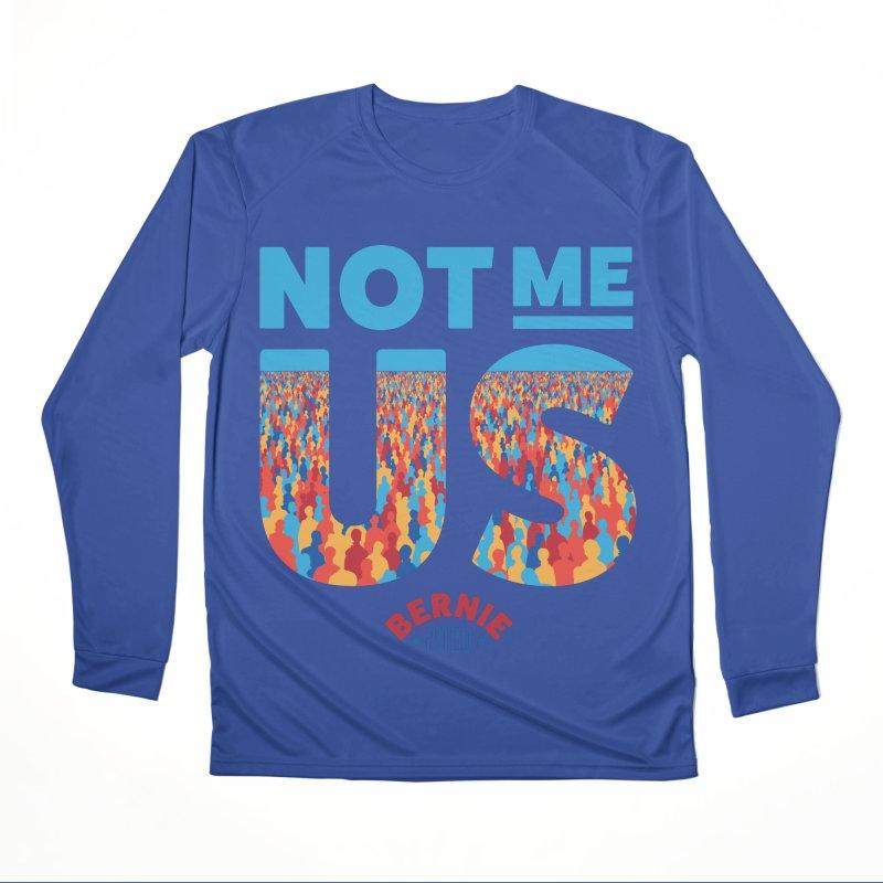 Not Me, Us 2020 (Text Version) Women's Performance Unisex Longsleeve T-Shirt by Bernie Threads