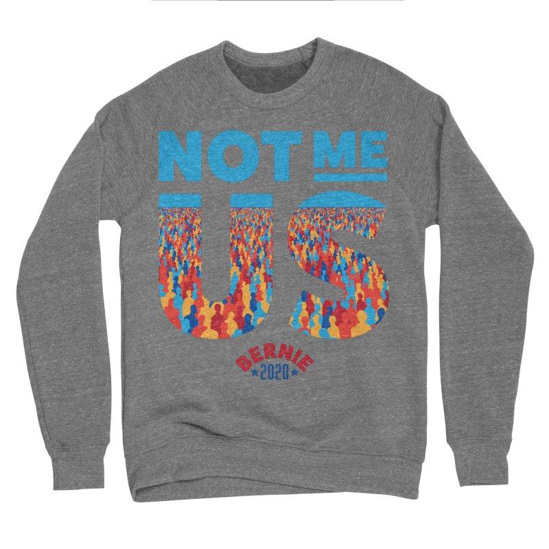 Not Me, Us 2020 (Text Version) Women's Sponge Fleece Sweatshirt by Bernie Threads