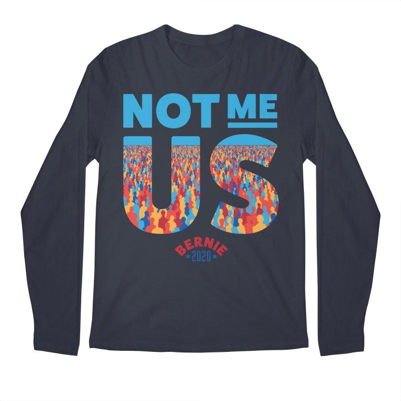 Not Me, Us 2020 (Text Version) Men's Regular Longsleeve T-Shirt by Bernie Threads