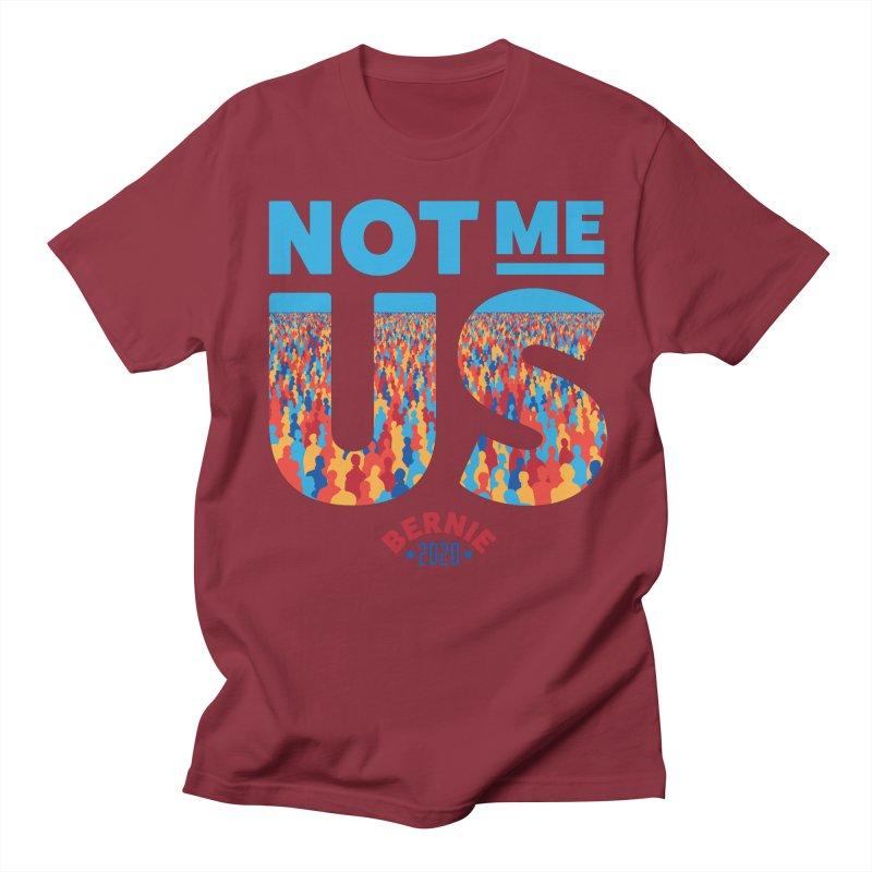 Not Me, Us 2020 (Text Version) Men's Regular T-Shirt by Bernie Threads