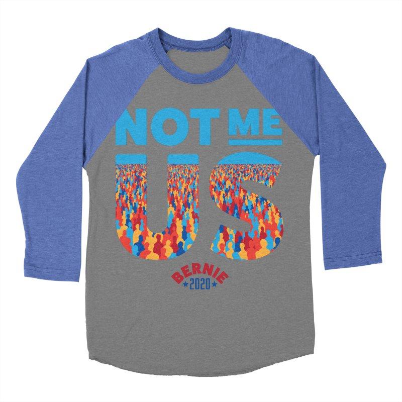 Not Me, Us 2020 (Text Version) Women's Baseball Triblend Longsleeve T-Shirt by Bernie Threads