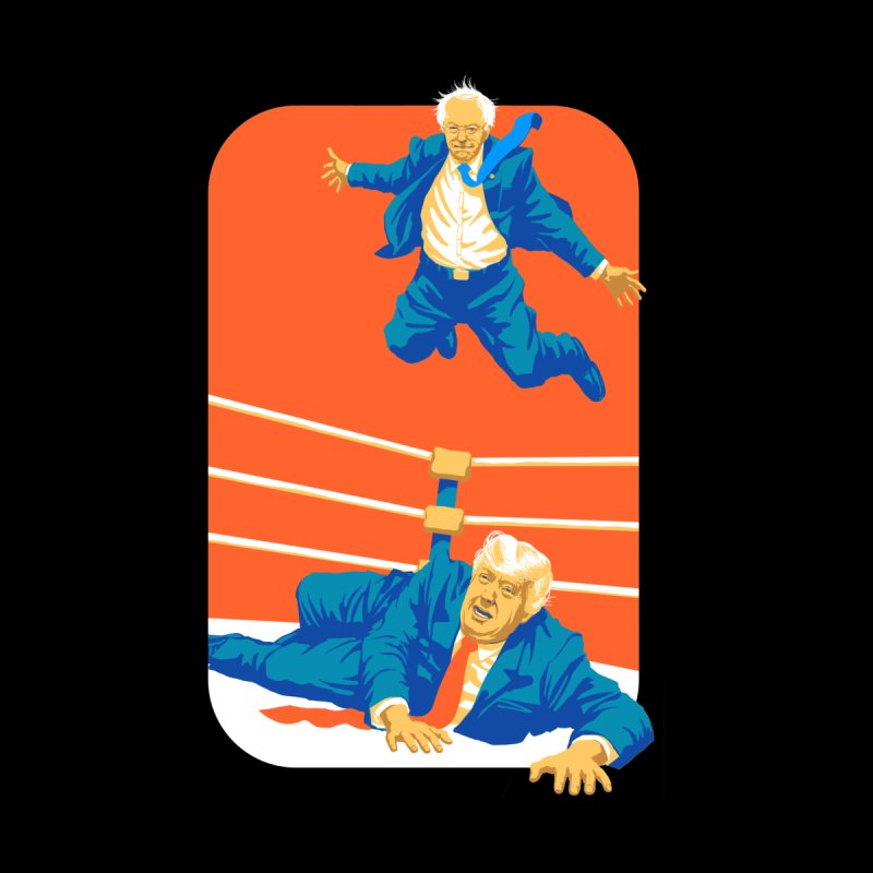Bernie Off The Top Rope Accessories Notebook by Bernie Threads
