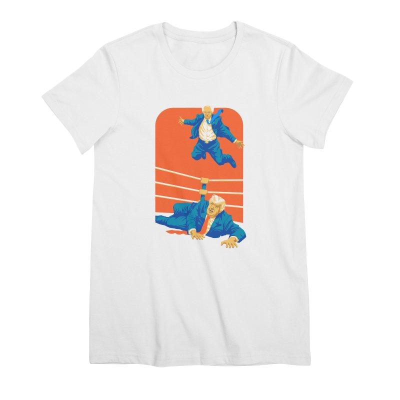 Bernie Off The Top Rope Women's Premium T-Shirt by Bernie Threads