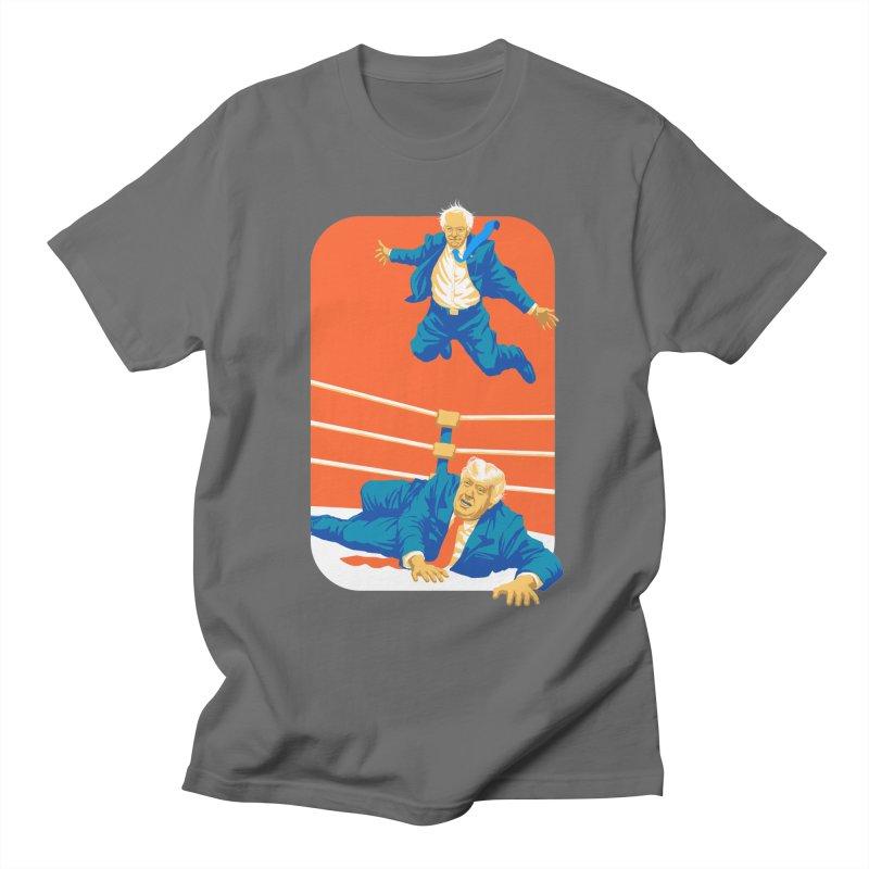 Bernie Off The Top Rope Men's T-Shirt by Bernie Threads