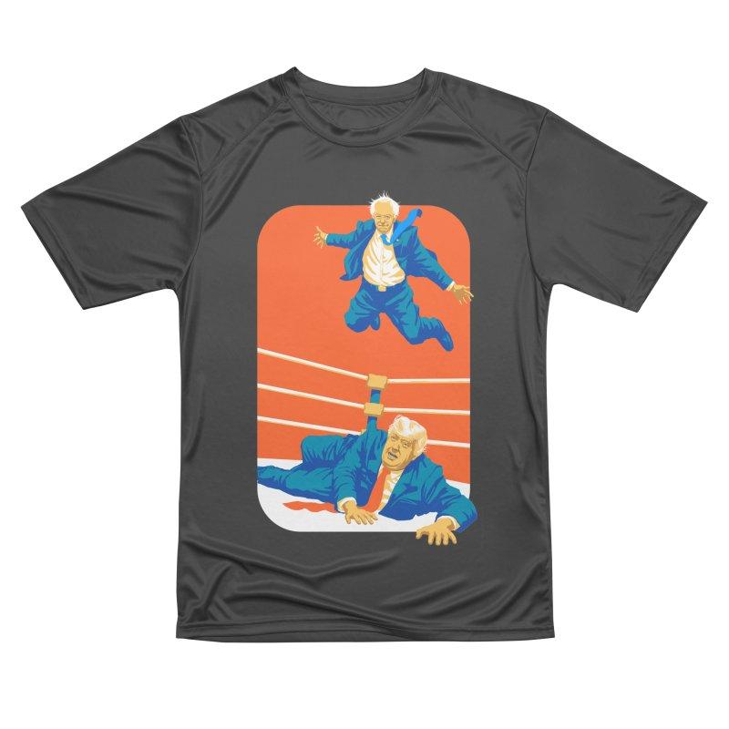 Bernie Off The Top Rope Women's Performance Unisex T-Shirt by Bernie Threads