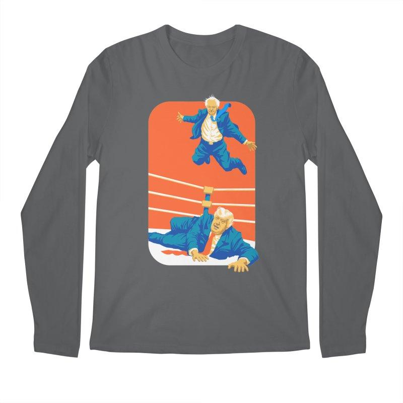 Bernie Off The Top Rope Men's Regular Longsleeve T-Shirt by Bernie Threads