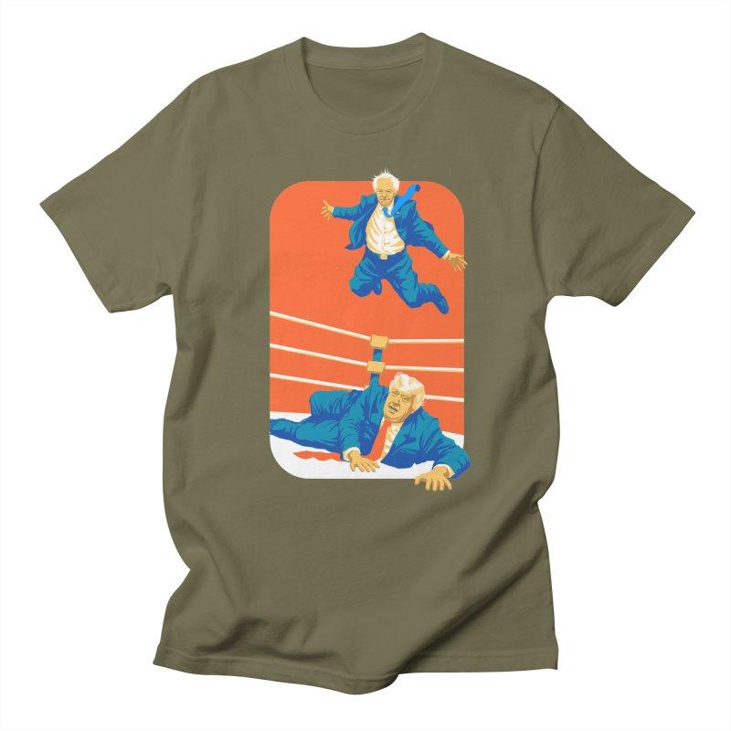 Bernie Off The Top Rope Women's Regular Unisex T-Shirt by Bernie Threads