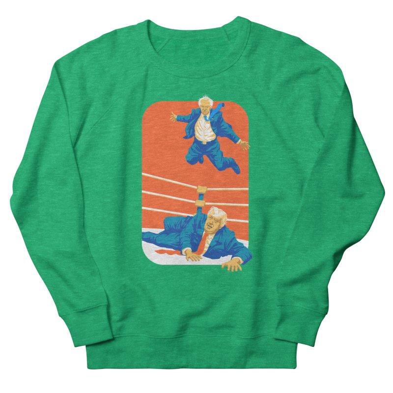 Bernie Off The Top Rope Women's Sweatshirt by Bernie Threads