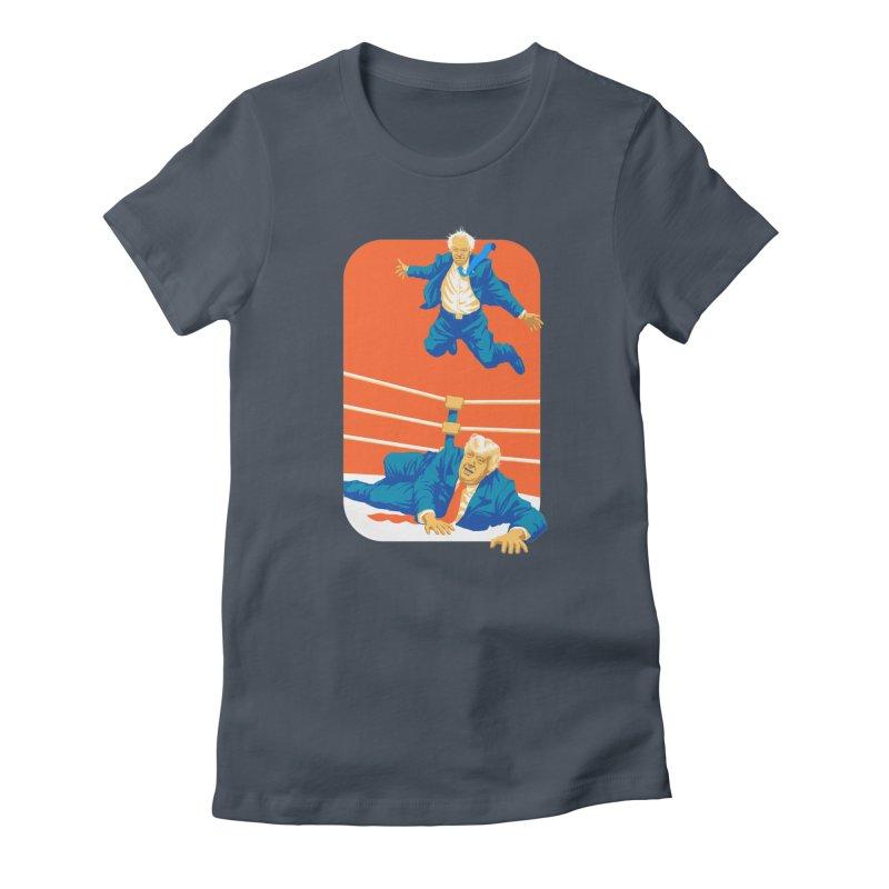 Bernie Off The Top Rope Women's T-Shirt by Bernie Threads