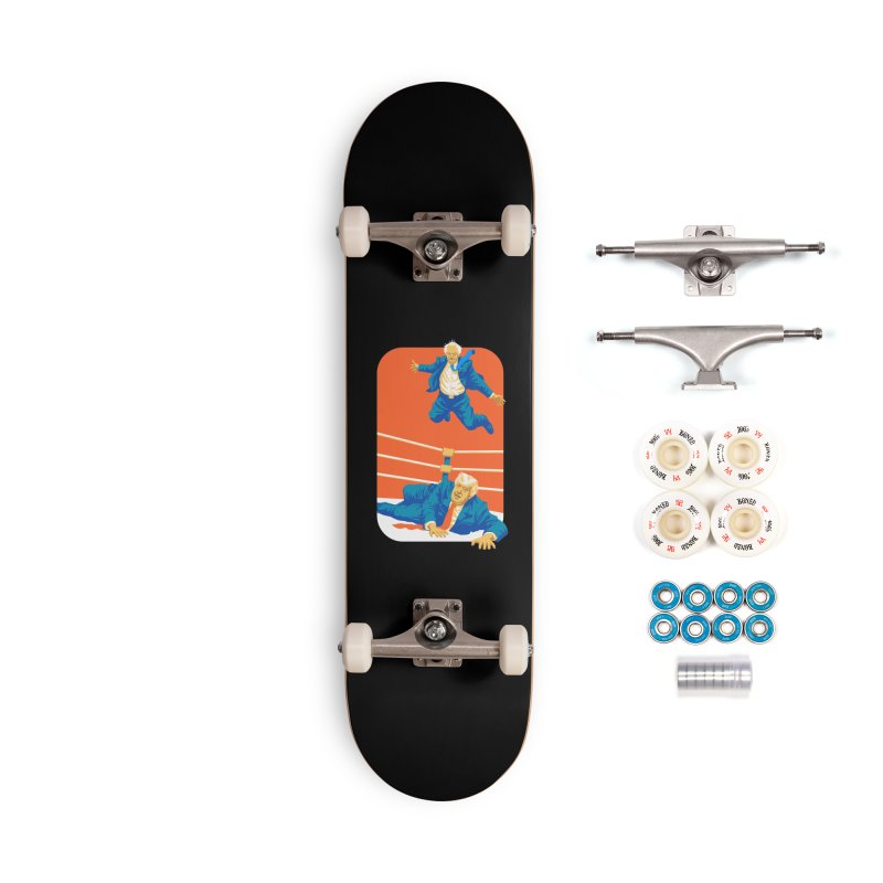Bernie Off The Top Rope Accessories Complete - Premium Skateboard by Bernie Threads