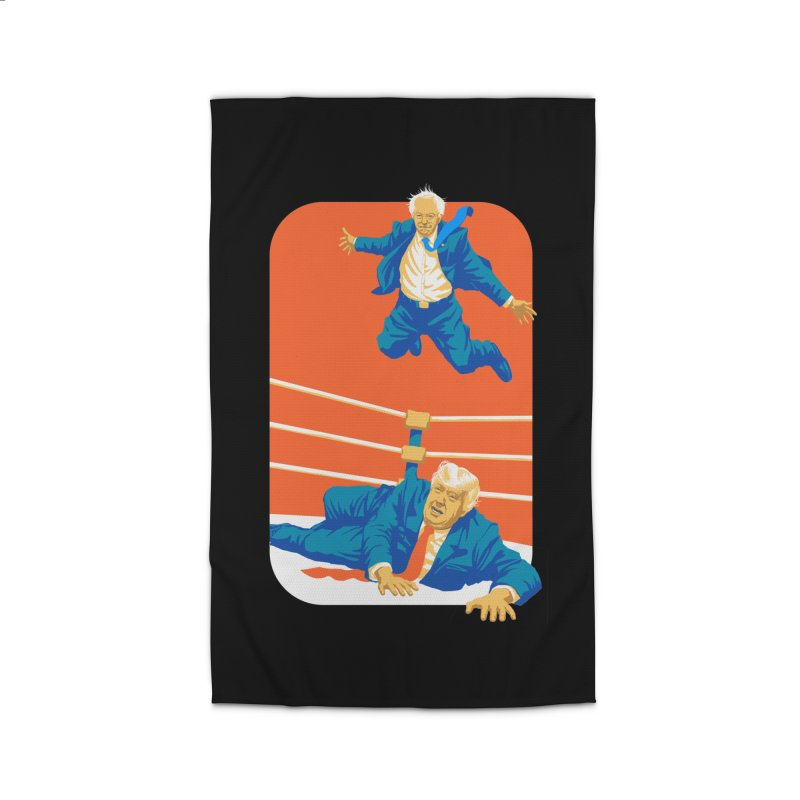 Bernie Off The Top Rope Home Rug by Bernie Threads