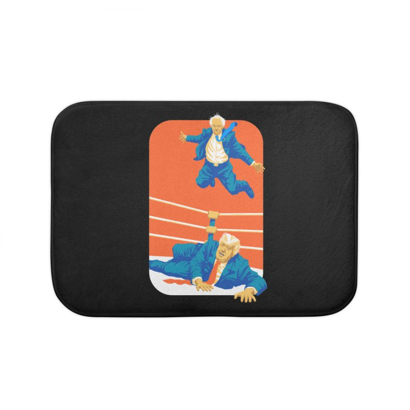 Bernie Off The Top Rope Home Bath Mat by Bernie Threads