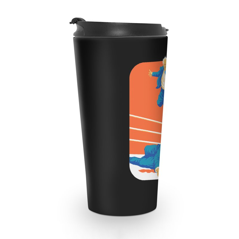 Bernie Off The Top Rope Accessories Travel Mug by Bernie Threads