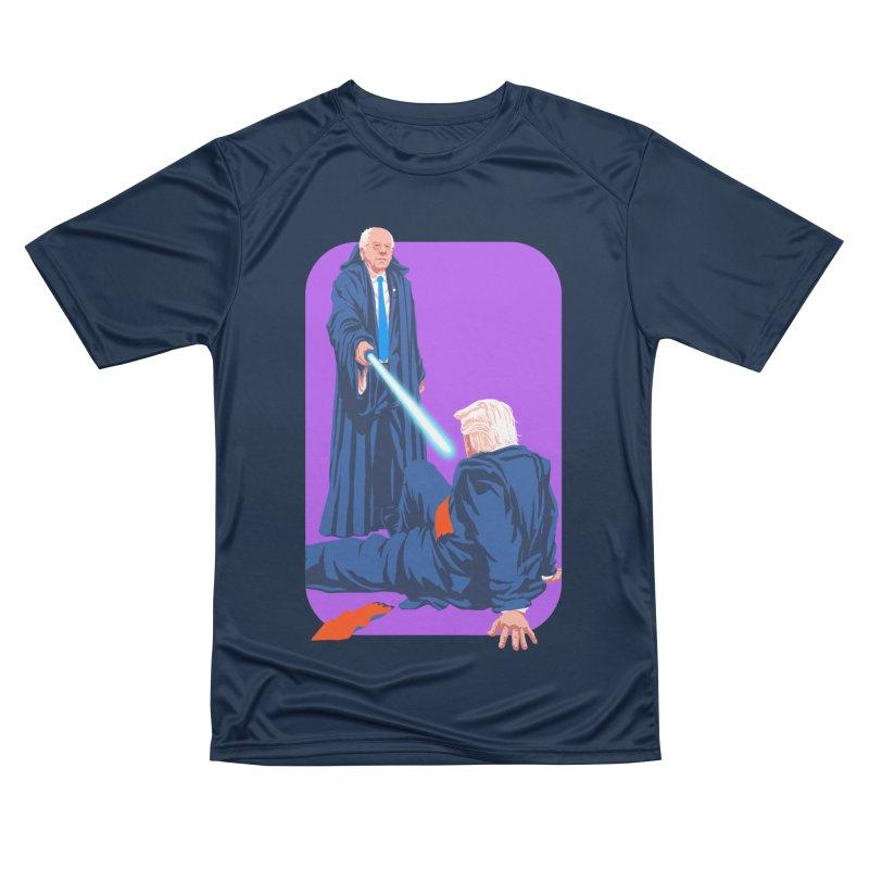 Bernie Bests Trump Men's Performance T-Shirt by Bernie Threads