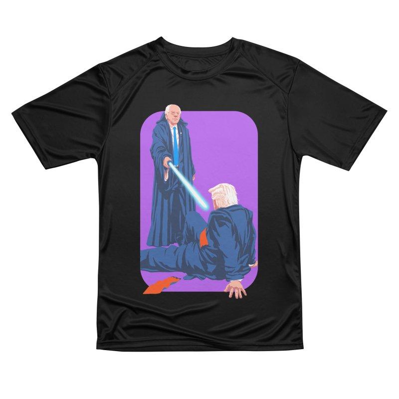 Bernie Bests Trump Women's Performance Unisex T-Shirt by Bernie Threads