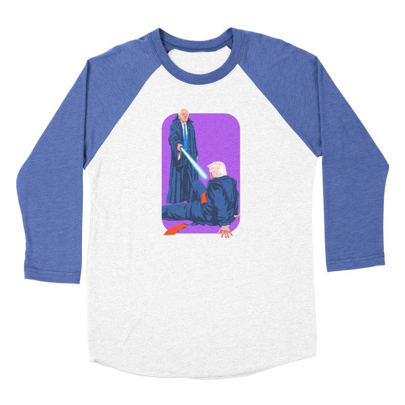 Bernie Bests Trump Men's Baseball Triblend Longsleeve T-Shirt by Bernie Threads