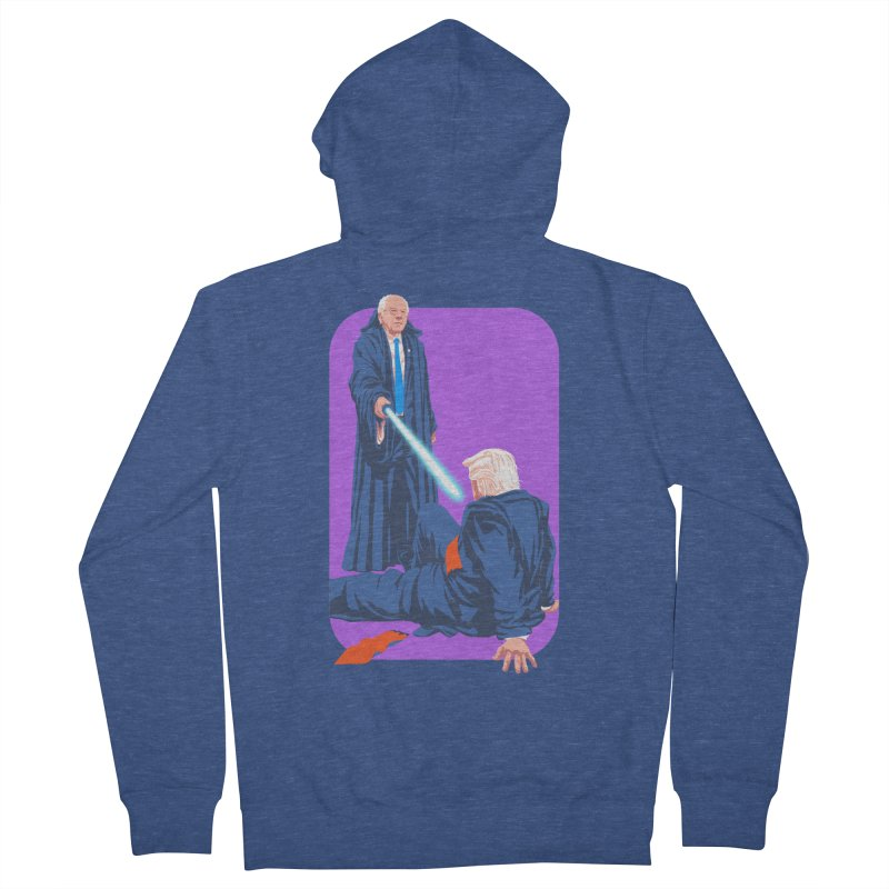 Bernie Bests Trump Women's French Terry Zip-Up Hoody by Bernie Threads