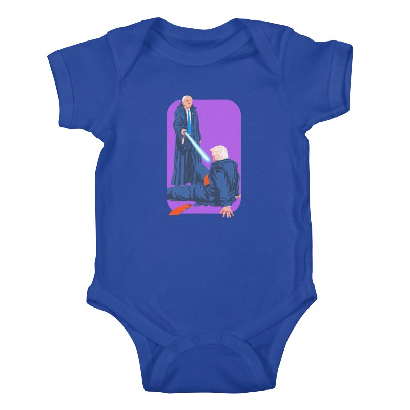 Bernie Bests Trump Kids Baby Bodysuit by Bernie Threads