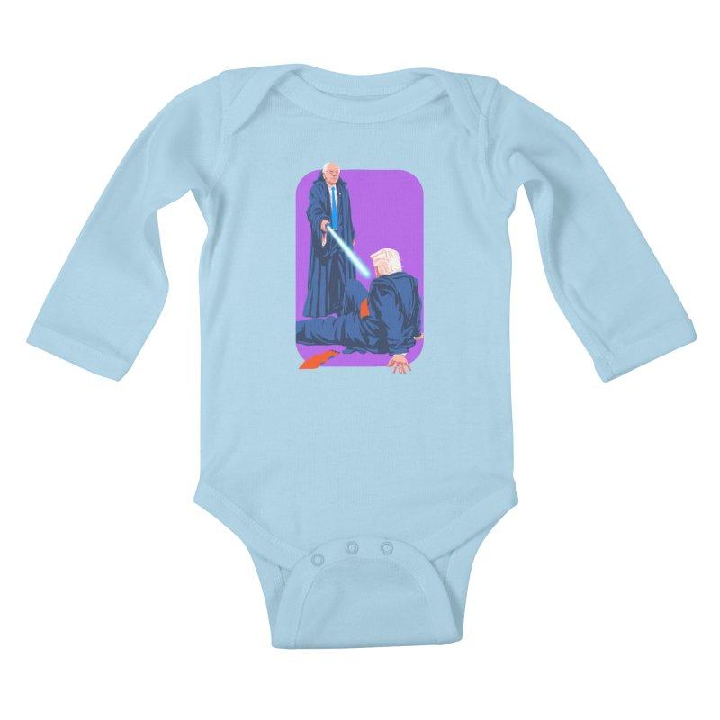 Bernie Bests Trump Kids Baby Longsleeve Bodysuit by Bernie Threads