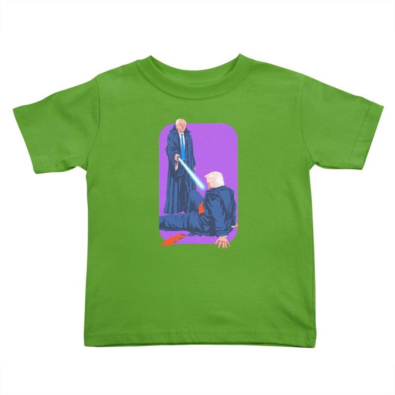 Bernie Bests Trump Kids Toddler T-Shirt by Bernie Threads