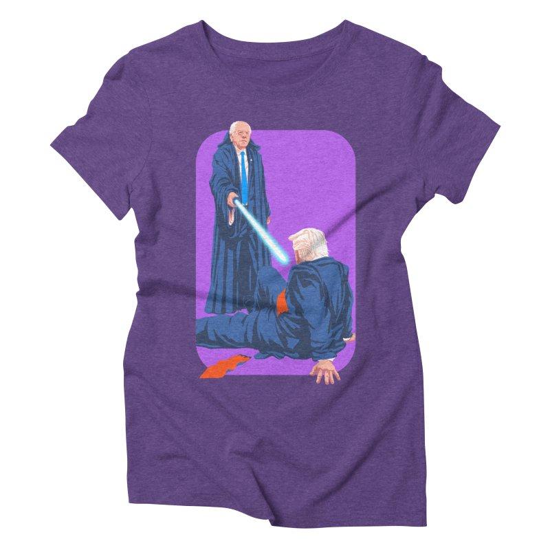 Bernie Bests Trump Women's Triblend T-Shirt by Bernie Threads