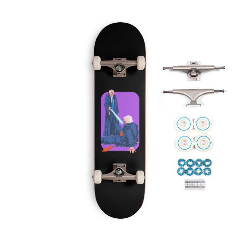 Bernie Bests Trump Accessories Complete - Basic Skateboard by Bernie Threads