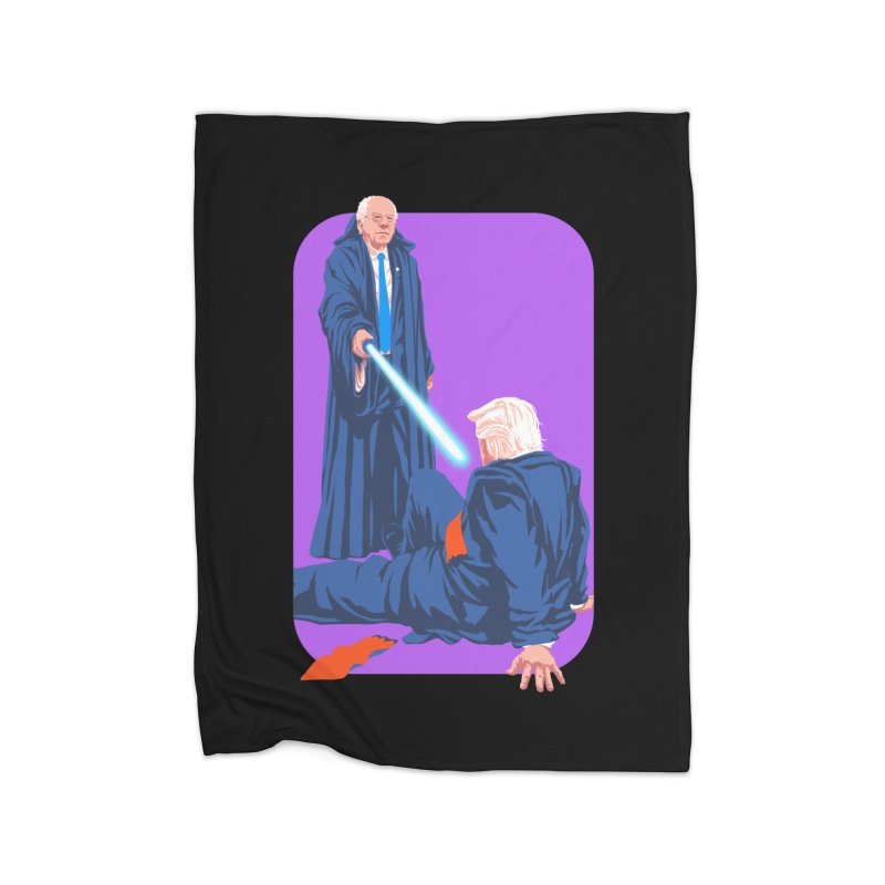 Bernie Bests Trump Home Fleece Blanket Blanket by Bernie Threads