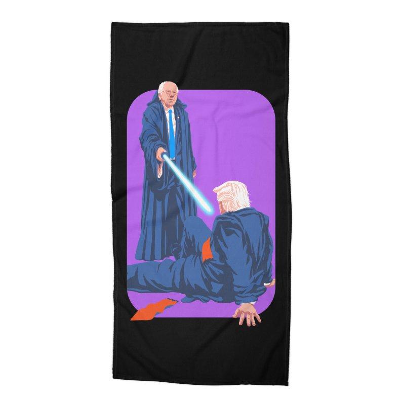 Bernie Bests Trump Accessories Beach Towel by Bernie Threads