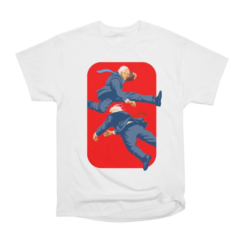 Bernie Hurdles Trump Women's T-Shirt by Bernie Threads